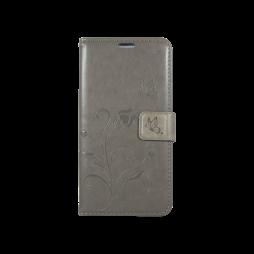 Sony Xperia M5 - Preklopna torbica (WLGO) - siva