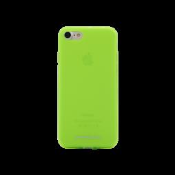 Apple iPhone 7/8 - Gumiran ovitek (TPUM) - zeleno-prosojen mat