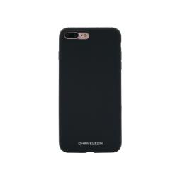 Apple iPhone 7 Plus/8 Plus - Gumiran ovitek (TPUM) - črn mat