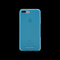 Apple iPhone 7 Plus/8 Plus - Gumiran ovitek (TPUM) - modro-prosojen mat