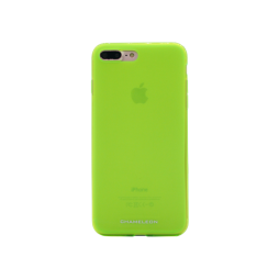 Apple iPhone 7 Plus/8 Plus - Gumiran ovitek (TPUM) - zeleno-prosojen mat
