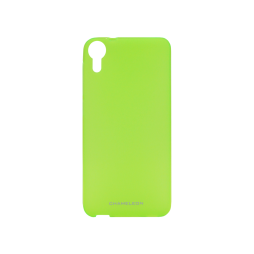 HTC Desire 825/10 Lifestylee - Gumiran ovitek (TPUM) - zeleno-prosojen mat