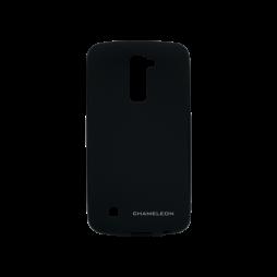 LG K10 - Gumiran ovitek (TPUM) - črn mat