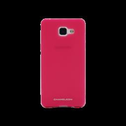 Samsung Galaxy A5 (2016) - Gumiran ovitek (TPUM) - roza-prosojen mat