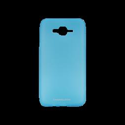 Samsung Galaxy J7 (2016) - Gumiran ovitek (TPUM) - modro-prosojen mat
