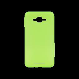 Samsung Galaxy J7 (2016) - Gumiran ovitek (TPUM) - zeleno-prosojen mat