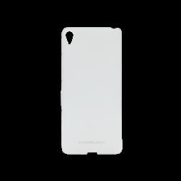 Sony Xperia XA - Gumiran ovitek (TPUM) - belo-prosojen mat