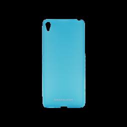 Sony Xperia XA - Gumiran ovitek (TPUM) - modro-prosojen mat