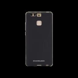 Huawei P9 - Gumiran ovitek (TPUM) - črn mat