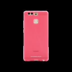Huawei P9 - Gumiran ovitek (TPUM) - roza-prosojen mat