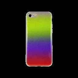 Apple iPhone 7/8 - Gumiran ovitek (TPUB) - rumeno-rdeča