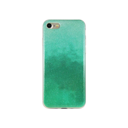 Apple iPhone 7/8 - Gumiran ovitek (TPUB) - temno zelena