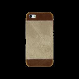 Apple iPhone 5/5S/SE - Okrasni pokrovček (TPL) - rjav