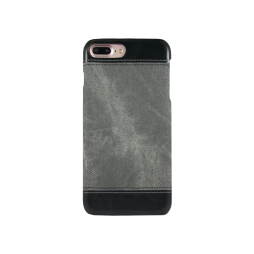 Apple iPhone 7 Plus/8 Plus - Okrasni pokrovček (TPL) - temno siv