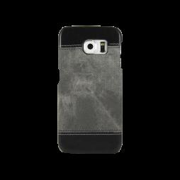 Samsung Galaxy S6 Edge - Okrasni pokrovček (TPL) - temno siv