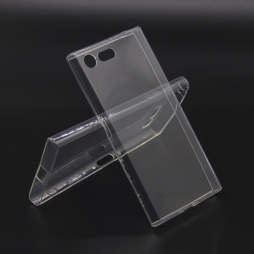 Sony Xperia X Compact - Gumiran ovitek (TPUA) - prosojen