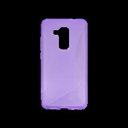 Huawei nova plus - Gumiran ovitek (TPU) - vijolično-prosojen SLine