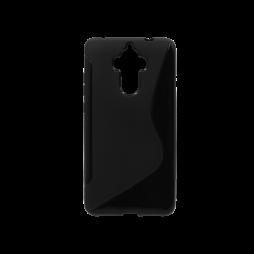 Huawei Mate 9 - Gumiran ovitek (TPU) - črn SLine