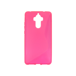 Huawei Mate 9 - Gumiran ovitek (TPU) - roza-prosojen SLine