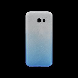Samsung Galaxy A3 (2017) - Gumiran ovitek (TPUB) - modra