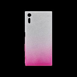 Sony Xperia XZ - Gumiran ovitek (TPUB) - roza