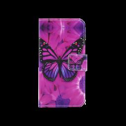 Huawei nova - Preklopna torbica (WLGP) - Purple butterfly