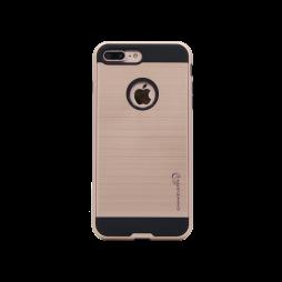 Apple iPhone 7 Plus/8 Plus - Gumiran ovitek (ARM-01) - roza-zlat