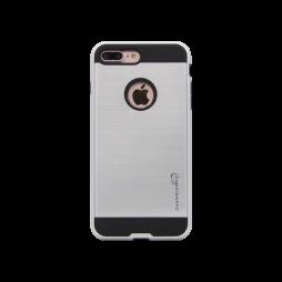 Apple iPhone 7 Plus/8 Plus - Gumiran ovitek (ARM-01) - srebrn