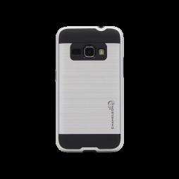 Samsung Galaxy J1 (2016) - Gumiran ovitek (ARM-01) - srebrn