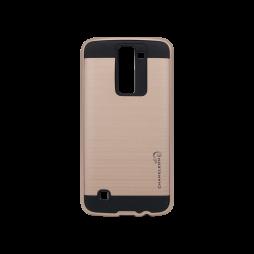 LG K8 - Gumiran ovitek (ARM-01) - roza-zlat
