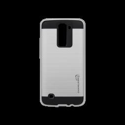 LG K8 - Gumiran ovitek (ARM-01) - srebrn