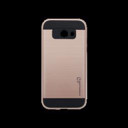 Samsung Galaxy A3 (2017) - Gumiran ovitek (ARM-01) - roza-zlat