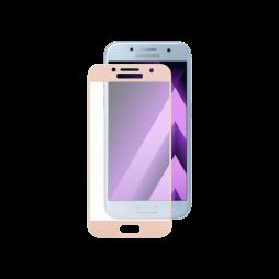 Samsung Galaxy A3 (2017) - Zaščitno steklo Excellence (0,33) - 3D, roza