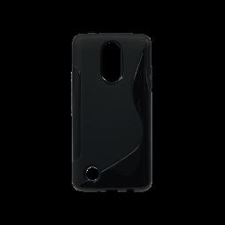 LG K8 (2017) / K4 (2017) - Gumiran ovitek (TPU) - črn SLine