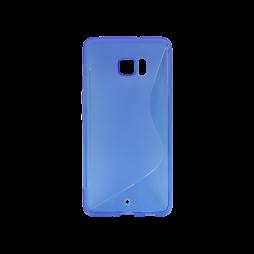 HTC U Ultra - Gumiran ovitek (TPU) - modro-prosojen SLine
