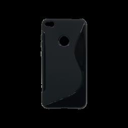 Huawei Honor 8 Lite/8 Lite (2017)/P9 Lite (2017)/ Nova Lite - Gumiran ovitek (TPU) - črn SLine