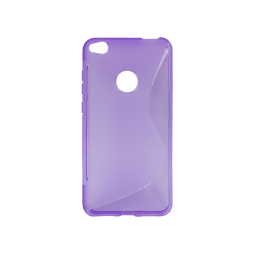 Huawei Honor 8 Lite/8 Lite (2017)/P9 Lite (2017)/ Nova Lite - Gumiran ovitek (TPU) - vijolično-prosojen SLine