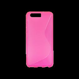 Huawei P10 - Gumiran ovitek (TPU) - roza-prosojen SLine