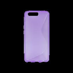 Huawei P10 - Gumiran ovitek (TPU) - vijolično-prosojen SLine