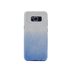 Samsung Galaxy S8+ - Gumiran ovitek (TPUB) - modra