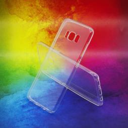 Samsung Galaxy S8 - Gumiran ovitek (TPUA) - prosojen
