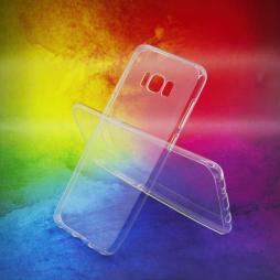 Samsung Galaxy S8+ - Gumiran ovitek (TPUA) - prosojen