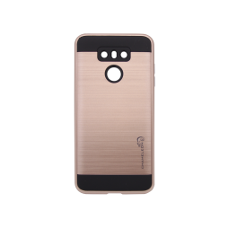 LG G6 - Gumiran ovitek (ARM-01) - roza-zlat
