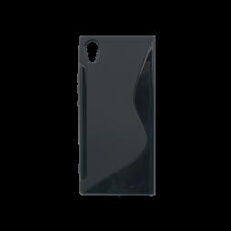 Sony Xperia XA1 - Gumiran ovitek (TPU) - črn SLine