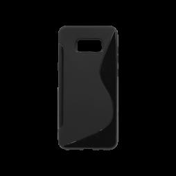 Samsung Galaxy S8+ - Gumiran ovitek (TPU) - črn SLine