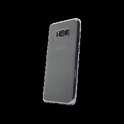 Samsung Galaxy S8+ - Gumiran ovitek (TPUE) - rob črn