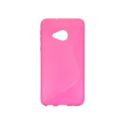 HTC U Play - Gumiran ovitek (TPU) - roza-prosojen SLine