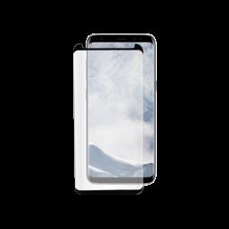 Samsung Galaxy S8 - Zaščitno steklo Premium (0,33) - case-friendly, črno