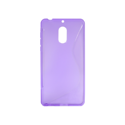Nokia 6 - Gumiran ovitek (TPU) - vijolično-prosojen SLine