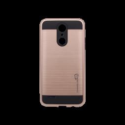 LG K4 (2017) - Gumiran ovitek (ARM-01) - roza-zlat